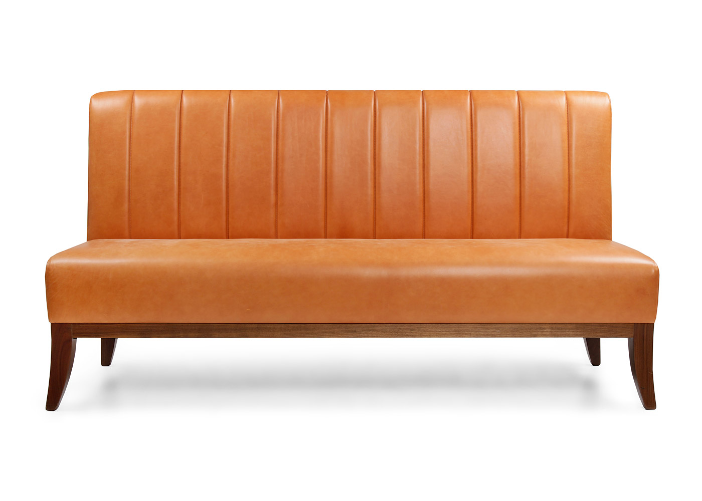 Fluted Banquette with legs